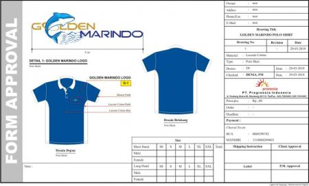 T - Shirt Golden Marindo