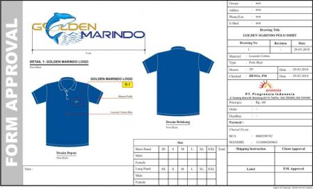 Polo Shirt Golden Marindo