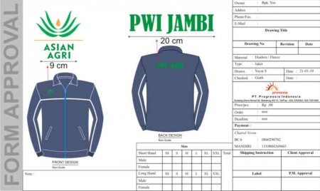 Jaket Asian Agri